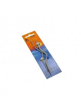 Druty do warkoczy zakrzywione 2-5mm