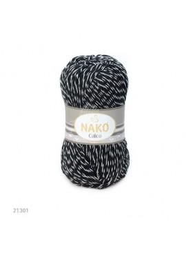Nako CALICO 21301 czarno-biały