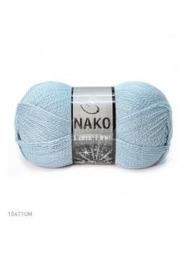 Nako LAME FINE 10471 błękit