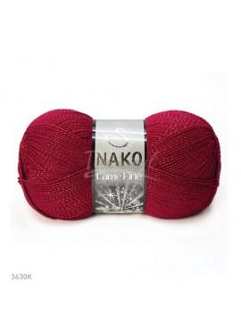Nako LAME FINE 3630 czerwony