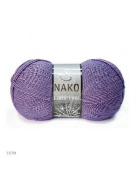 Nako LAME FINE 187 fioletowy