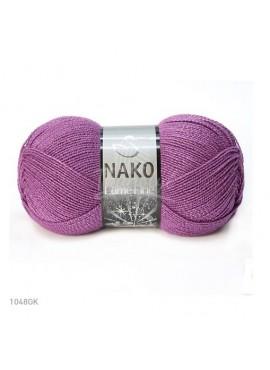 Nako LAME FINE 1048GK wrzos ciemny