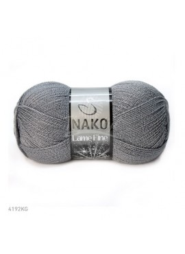 Nako LAME FINE 4192KG szary ciemny