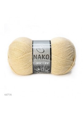 Nako LAME FINE 4671A waniliowy