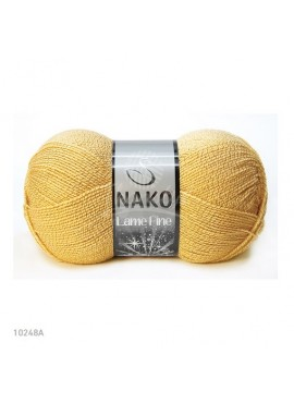 Nako LAME FINE 10248A musztardowy