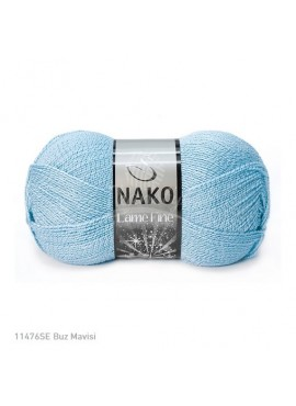Nako LAME FINE 11476 niebieski