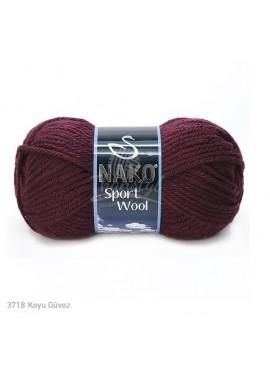 Nako SPORT WOOL 3718 bordo