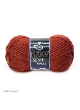 Nako SPORT WOOL 4409 rudy