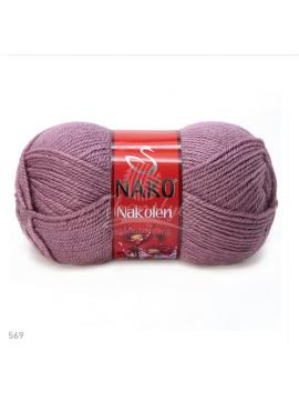 Nako NAKOLEN 569 brudny fiolet