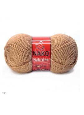 Nako NAKOLEN 221 jasny brąz(karmel)